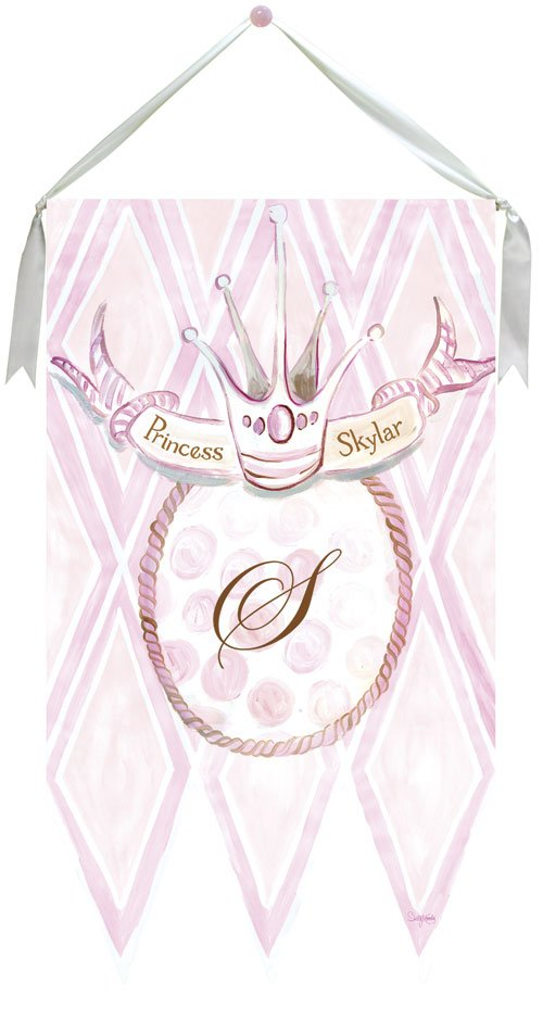 Modern Princess Wall Hanging by Drooz Studio - Kids Wall Decor Store