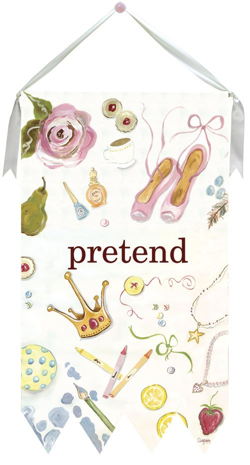 Pretend Wall Hanging by Drooz Studio - Kids Wall Decor Store