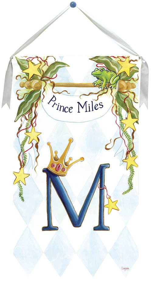 Prince Wall Hanging by Drooz Studio - Kids Wall Decor Store