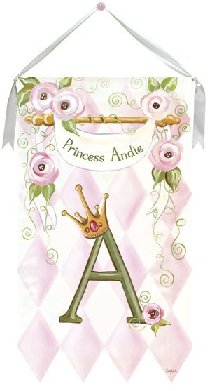 Princess Wall Hanging by Drooz Studio - Kids Wall Decor Store