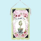 Serendipity Bebe Wall Hanging by Drooz Studio