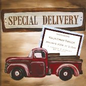 Special Delivery Boy by Drooz Studio