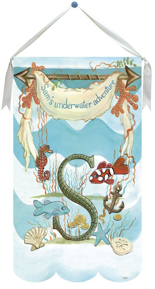 Underwater Creations Wall Hanging by Drooz Studio - Kids Wall Decor Store