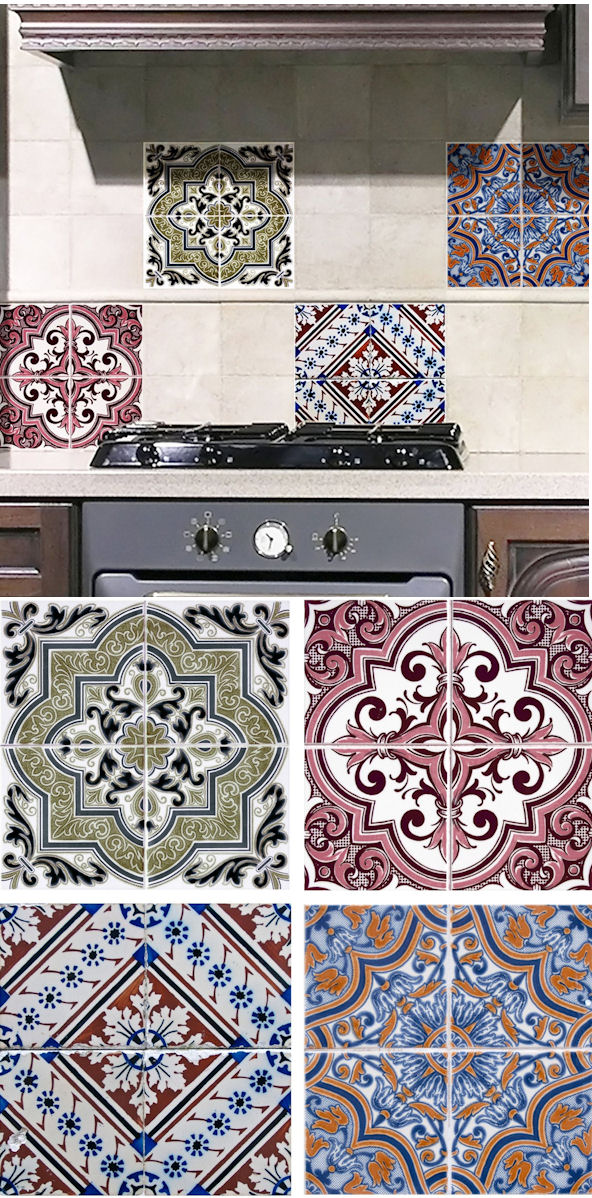 Wall Pops Earth Peel And Stick Wall Tiles