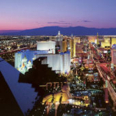 Vegas Lights Wall Mural C836
