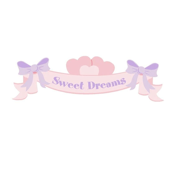 Elephants on the Wall  Mini Sweet Dreams Banner - Wall Sticker Outlet