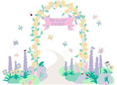 Elephants on the Wall My Secret Garden Mural - Wall Sticker Outlet