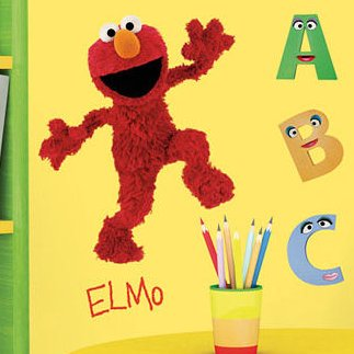 Elmo Decal Sesame Street