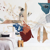 Minted Emilys Mark Repositionable Wall Mural