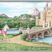Enchanted Kingdom Minute Mural