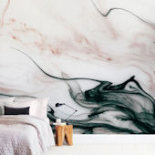 Minted Ethereal Flow Repositionable Wall Mural