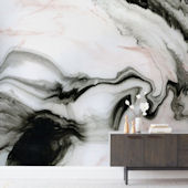 Minted Ethereal Marble Repositionable Wall Mural