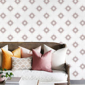 Urbanwalls Etoile Dusty Rose Wallpaper