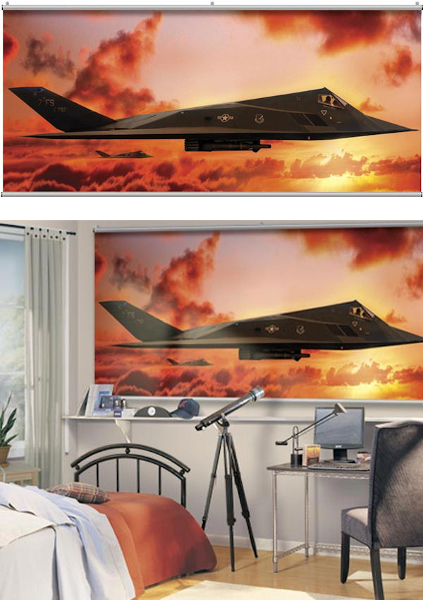 F17 Sundown Minute Mural - Wall Sticker Outlet