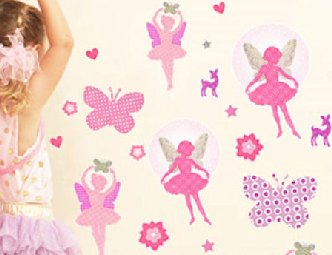 Fairy Dance Wall Sticker Kit