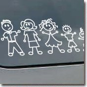 Family Car Stickers