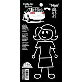 Mom Family Car Sticker