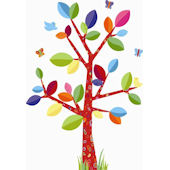 Colorful Family Tree Wall Sticker SALE
