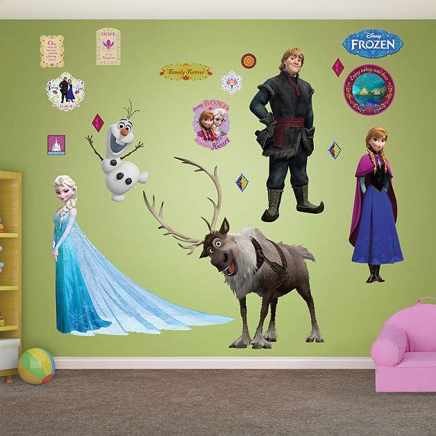 Fathead Frozen Collection Wall Decals - Wall Sticker Outlet