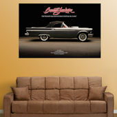 Fathead 1957 Thunderbird  Wall Graphic