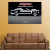 Fathead  1969 Mustang Boss 302  Wall Graphic