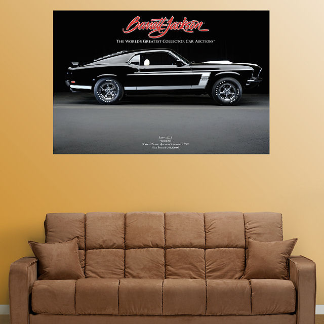 Fathead  1969 Mustang Boss 302  Wall Graphic - Wall Sticker Outlet
