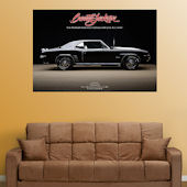 Fathead 1969 Camero  Wall Graphic