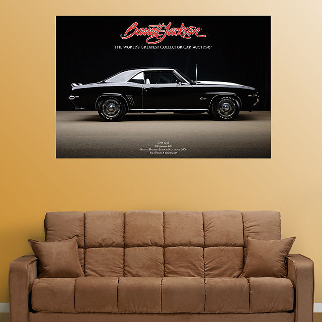 Fathead 1969 Camero  Wall Graphic - Wall Sticker Outlet