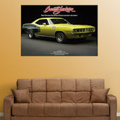 Fathead 1971 Plymouth Hemi Cuda Wall Graphic