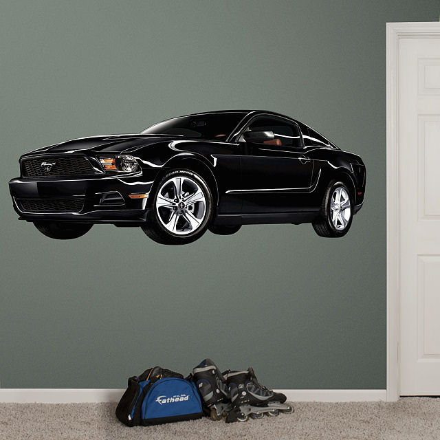 Fathead 2011 Ford Mustang Wall Graphic - Wall Sticker Outlet
