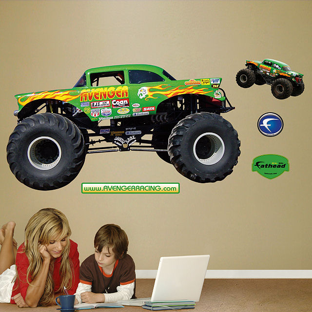 Fathead Monster Jam Avenger Wall Graphic - Wall Sticker Outlet