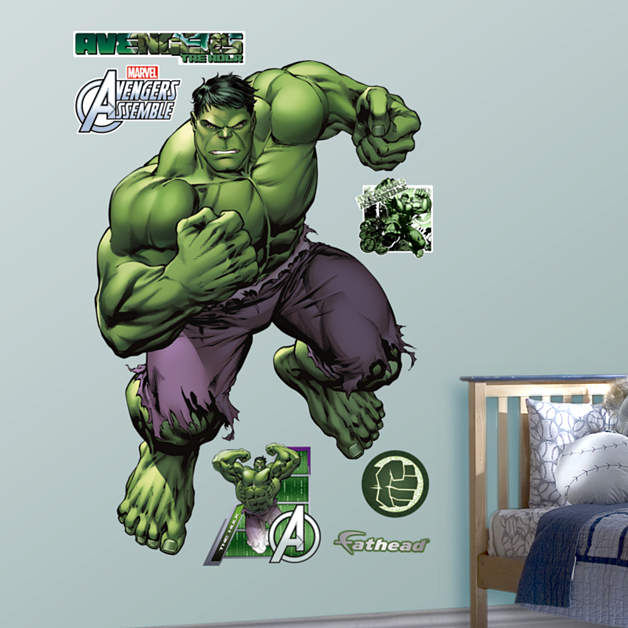 Fathead Avengers Hulk Wall Graphic - Wall Sticker Outlet