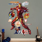Fathead Avengers Iron Man Wall Graphic