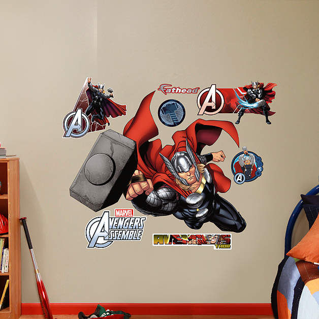 Fathead Avengers Thor Wall Graphic - Wall Sticker Outlet