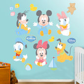 Disney Baby Mickey and Friends Wall Sticker