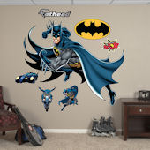 Fathead Batman in Action Wall Graphic