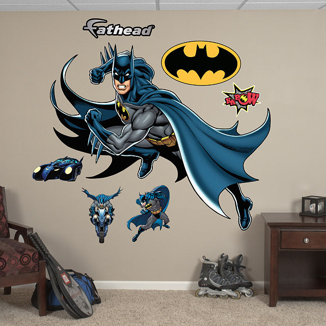Fathead Batman in Action Wall Graphic - Wall Sticker Outlet