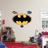 Fathead Batman Logo Peel and Stick Wall Graphic