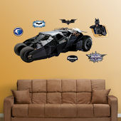 Fathead Batmobile Peel Stick Wall Graphic