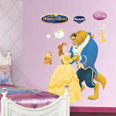 Disney Beauty and The Beast Wall Sticker