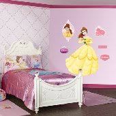 Fathead Disney Princess Belle Wall Graphic