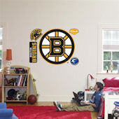 Fathead Boston Bruins Logo Wall Graphics