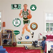 Fathead Boston Celtics Larry Bird Wall Graphic