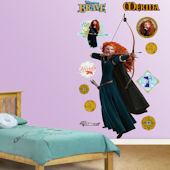 Fathead Brave Merida Wall Graphic