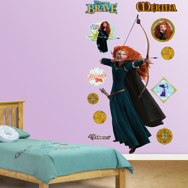 Superieur Fathead Brave Merida Wall Graphic   Wall Sticker Outlet