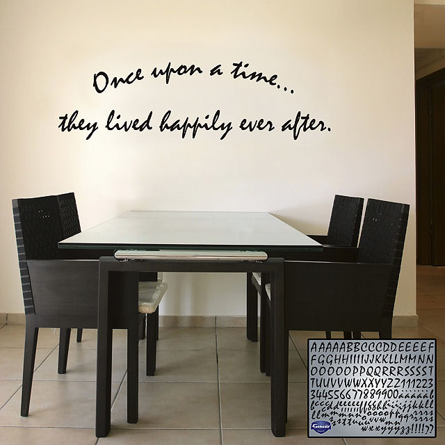 Fathead Brush Letters - Wall Sticker Outlet