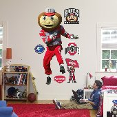 Fathead Brutus Buckeye Peel Stick Wall Graphic