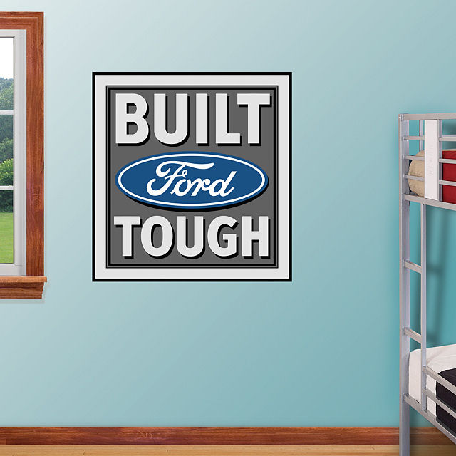 Fathead Built Ford Tough Logo - Wall Sticker Outlet