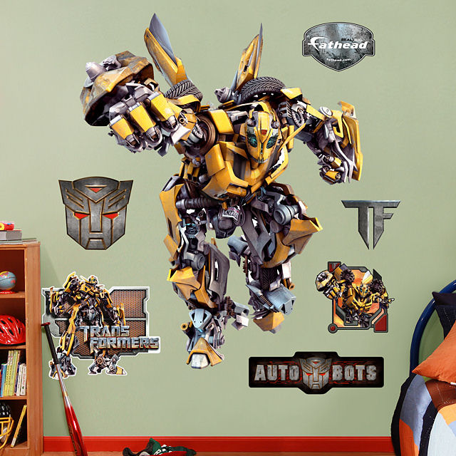 Fathead Transformers Bumblebee Wall Graphic - Wall Sticker Outlet