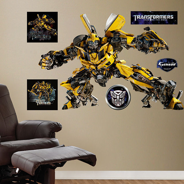 Fathead Transformers Bumblebee Dark Of Moon Decal
